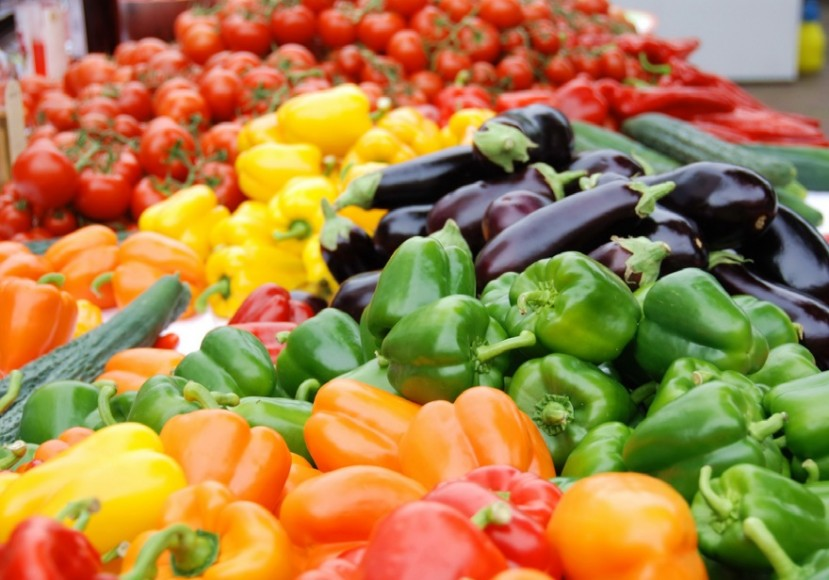 october produce fresh vegetables