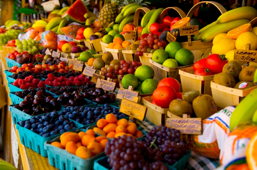 Raw Fruit and Vegetables